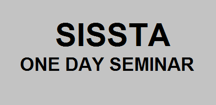 SISSTA one day seminar - sugarprocesstech.com