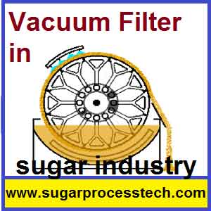 Rotary Vacuum Filter Accessories Capacity Calculation |Sugar Tech