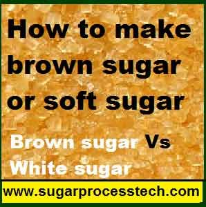 Brown Sugar manufacturing process | Specifications of brown sugar- sugarprocesstech
