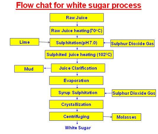 Plantation White Sugar Manufacturing Process | Double sulphitation sugar