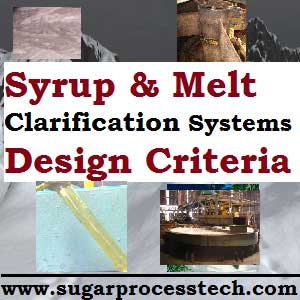 Melt Clarification System Design Criteria for Sugar Refinery Process | Syrup Clarification Design for Plantation white sugar manufacturing