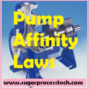 Affinity laws for centrifugal pumps | positive displacement pump affinity laws | affinity laws energy savings | pump affinity laws example with calculator