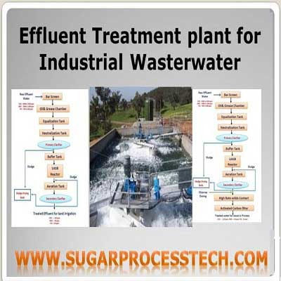 ETP plant process philosophies in sugar industry  wastewater |flowchart for treatment of sugar mill waste
