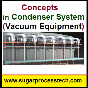 Condenser System for vacuum creations and its types with design criteria - sugarprocesstech