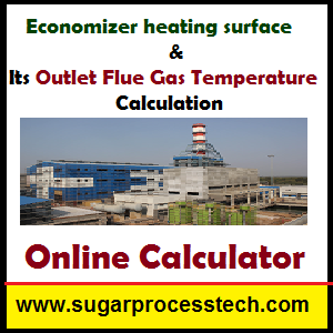 Economizer heating surface calculation in thermal power plants -sugarprocesstech