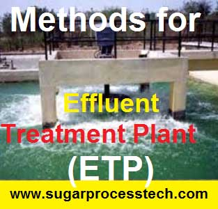Industrial Effluent Treatment Plant (ETP)- sugar process tech