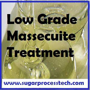 """Low Grade masseuite treatment process in sugar industry massecuite boiling process. 