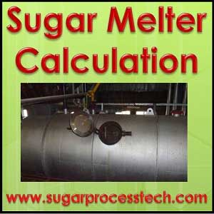 Sugar Melter Capacity Calculation | Sugar Melting design in sugar factory boiling house | sugarprocesstech